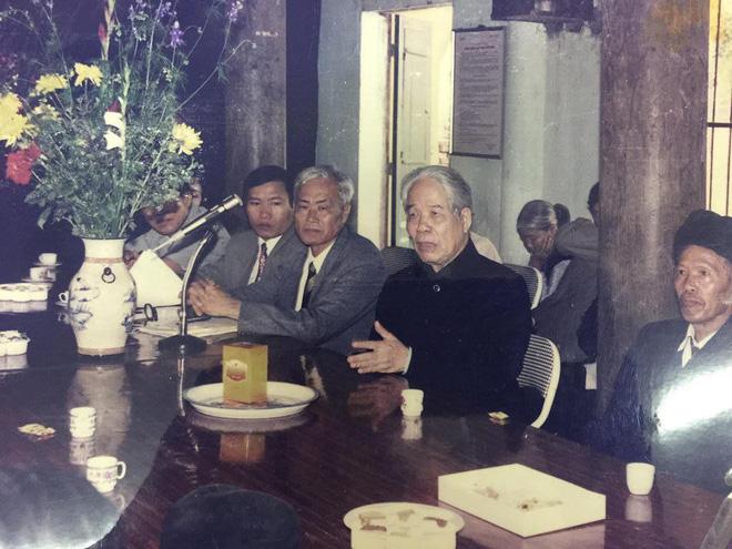 Những hình ảnh in dấu cố Tổng Bí thư Đỗ Mười tại quê nhà Đông Mỹ 10