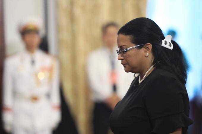 Đại diện các nước tại TP HCM đến viếng cố Tổng Bí thư Đỗ Mười 6