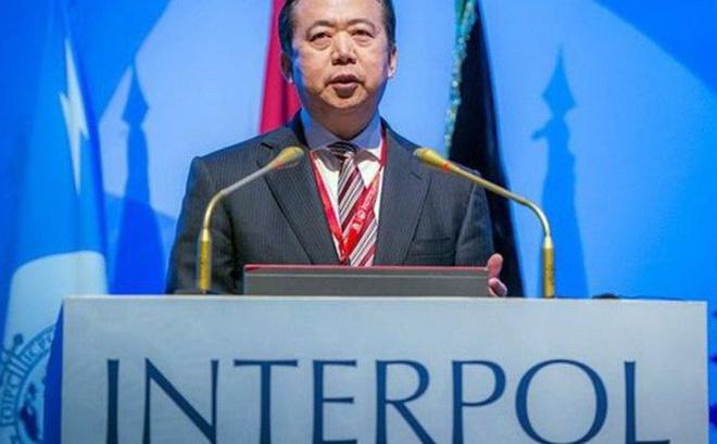 Interpol yêu cầu Trung Quốc cung cấp tin về Giám đốc Mạnh Hoành Vĩ 1