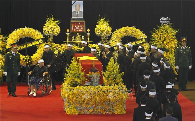 Hình ảnh Lễ viếng nguyên Tổng Bí thư Đỗ Mười 2