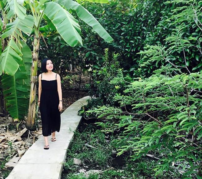 'Người đẹp Tây Đô' Việt Trinh và ngôi nhà an yên bên khu vườn ngập tràn rau trái 4