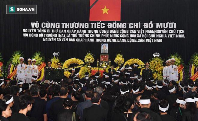 Hình ảnh Lễ an táng nguyên Tổng Bí thư Đỗ Mười trở về với đất mẹ quê hương 1