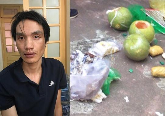 Giấu ma túy trong ba quả bưởi, vận chuyển từ Sài Gòn ra Hà Nội 1