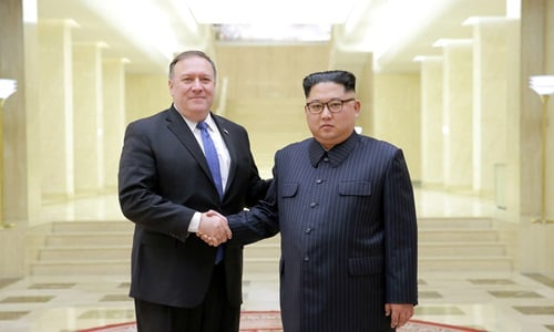 Kim Jong-un đánh giá cuộc gặp với Ngoại trưởng Mỹ là 'hữu ích và tuyệt vời' 1