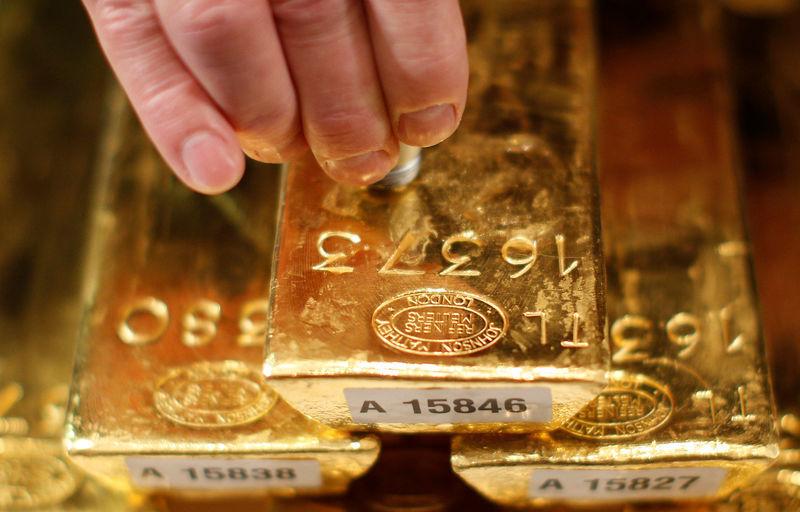 Hình ảnh Giá vàng hôm nay 8/10/2018: Tăng mạnh do đồng USD thoái lui số 1