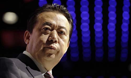 Trung Quốc cáo buộc Chủ tịch Interpol nhận hối lộ 1