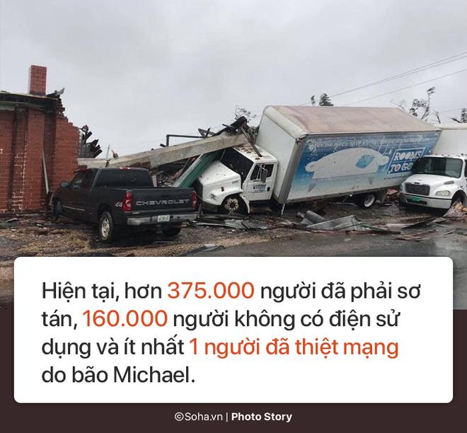 Sức mạnh kinh hoàng của bão Michael và những cảnh 'không tưởng tượng nổi' trên đất liền Mỹ 10