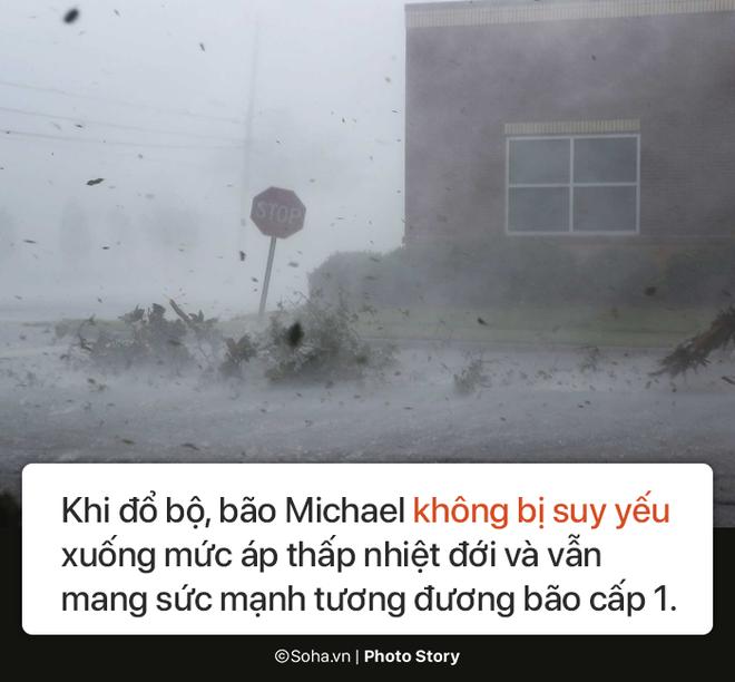 Sức mạnh kinh hoàng của bão Michael và những cảnh không tưởng tượng nổi trên đất liền Mỹ - Ảnh 4.