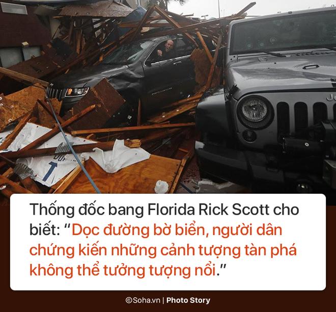 Sức mạnh kinh hoàng của bão Michael và những cảnh 'không tưởng tượng nổi' trên đất liền Mỹ 5