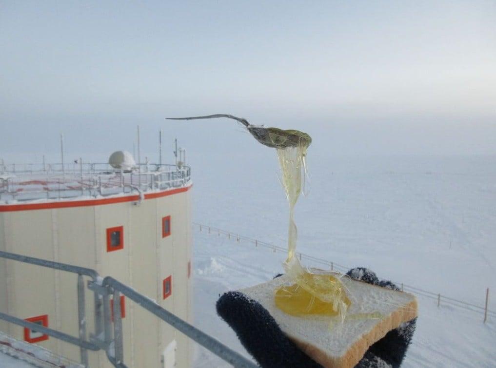 Điều gì sẽ xảy ra khi bạn nấu ăn ở Nam Cực với nhiệt độ ngoài trời là -70 độ C? - Ảnh 4.