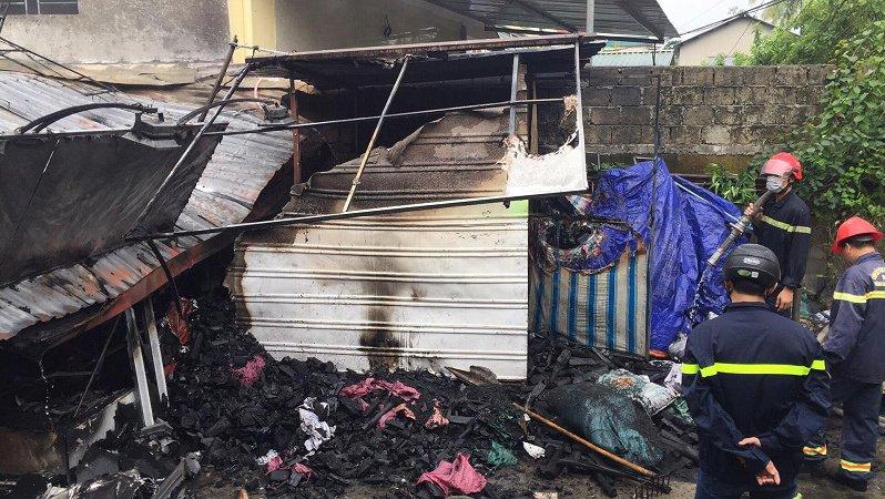 Hình ảnh Huế: Cháy lớn trong nhà, một cụ bà bại liệt tử vong thương tâm số 1