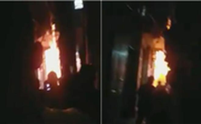 Hình ảnh Hà Nội: Mâu thuẫn gia đình, chồng châm lửa đốt nhà khiến 3 người bị thương số 1