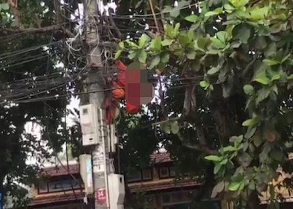 Công nhân tử nạn thương tâm trên cột điện: Chưa thể khẳng định chết do bị điện giật 1