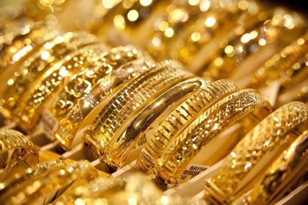 Hình ảnh Giá vàng hôm nay 12/10/2018: Vàng bỗng tăng vọt giữa tâm bão số 1