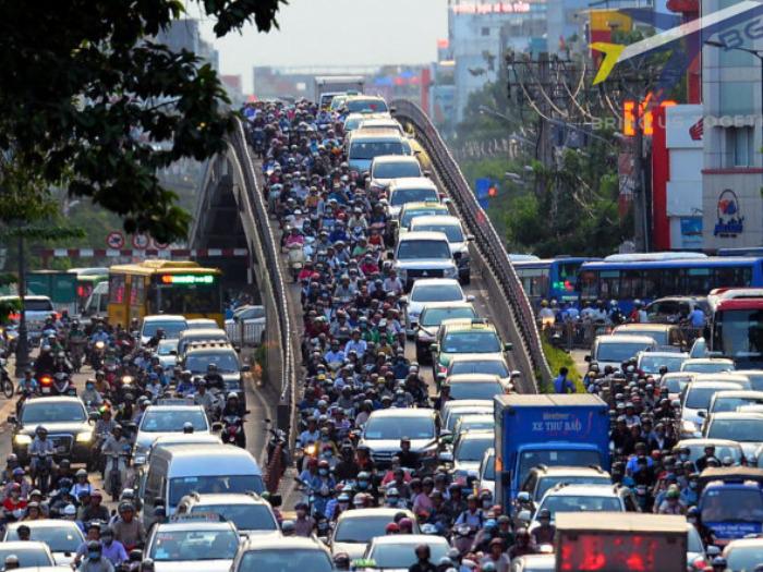 TP. HCM đặt kế hoạch giảm kẹt xe trong 3 năm với kinh phí 96.000 tỷ đồng 2