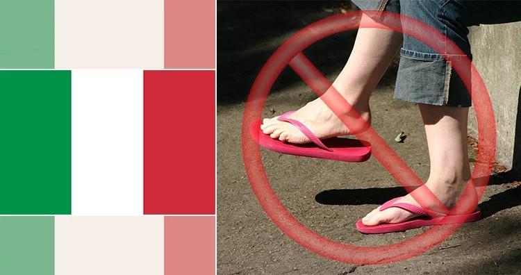 Những luật cấm kỳ lạ và lãng xẹt nhất thế giới: Cấm đi dép, cấm gấu pooh, mua kẹo cao su phải mang theo đơn thuốc 9