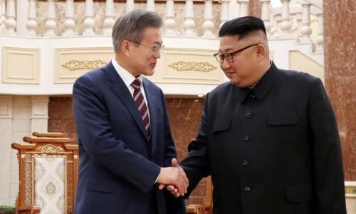 Tổng thống Hàn Quốc: Ông Kim Jong un muốn từ bỏ tất cả vũ khí hạt nhân 1