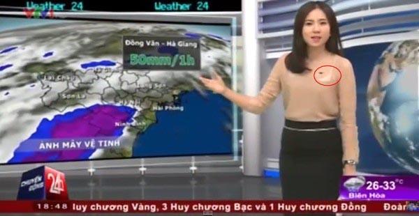 Loạt sự cố lộ nội y kém duyên của các BTV trên sóng truyền hình 4