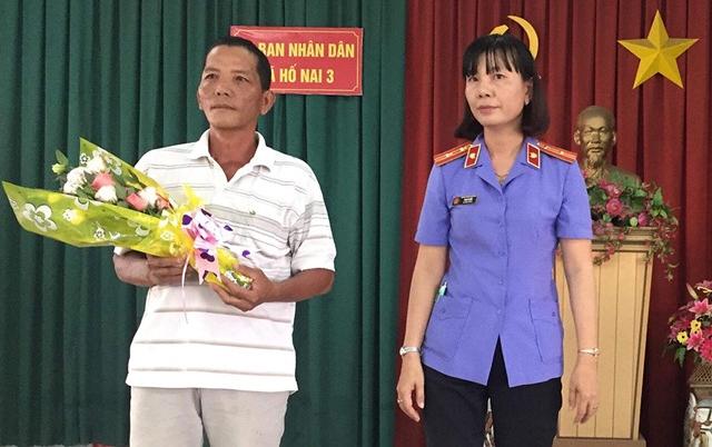 VKS huyện Vĩnh Cửu – Đồng Nai xin lỗi người bị truy tố oan tội trộm cắp tài sản 1