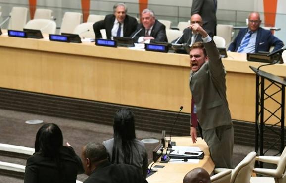 Phái đoàn Cuba đập bàn, la hét làm náo loạn cuộc họp của Liên Hợp Quốc 1
