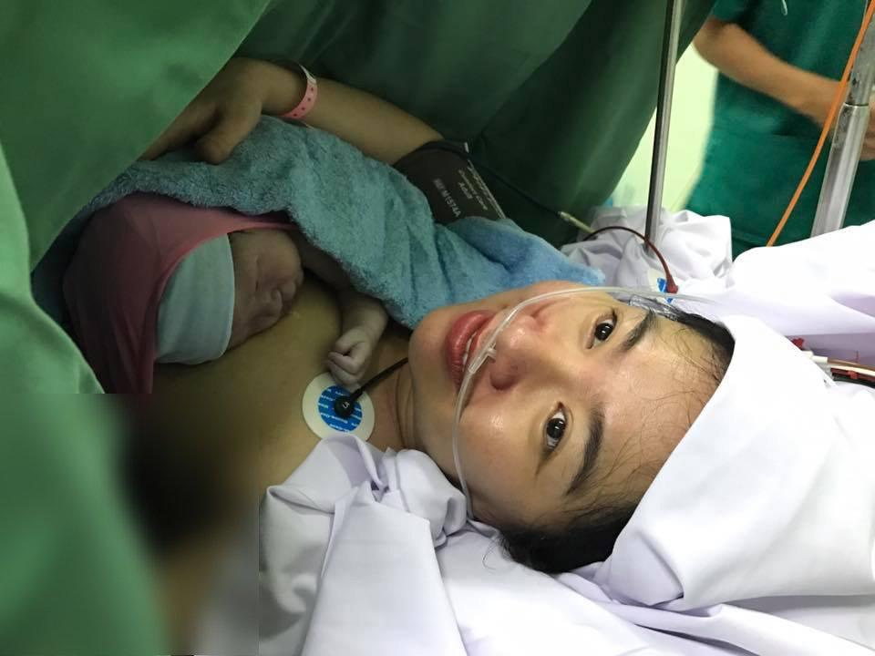 Diễn viên Lê Khánh sinh con trai đầu lòng sau 4 năm chờ đợi 1