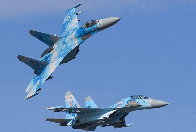 Su-27 rơi trong lúc huấn luyện, phi công Mỹ - Ukraine thiệt mạng 1