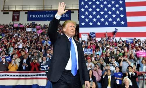 Trump tuyên bố 100\% tái tranh cử tổng thống 1