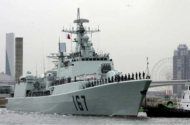 Cận cảnh vũ khí đầy nguy hiểm của Trung Quốc trên khu trục hạm Thâm Quyến 1