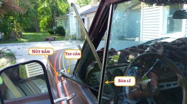 Bí ẩn thế kỷ: Tấm kính tam giác trên các xe hơi cổ có tác dụng gì? 4