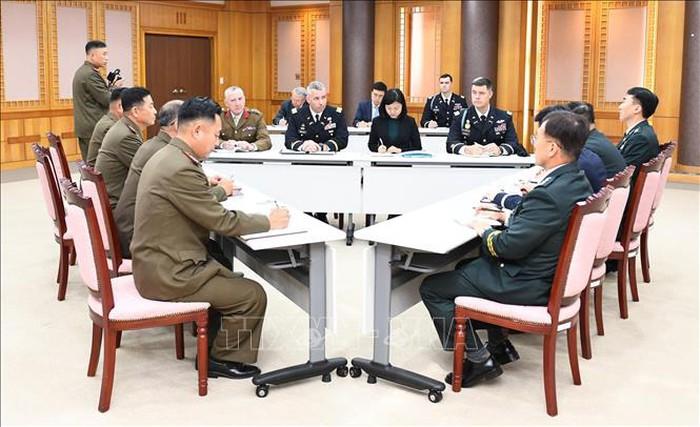 Hàn Quốc, Triều Tiên và Bộ Tư lệnh Liên Hợp Quốc tổ chức hội đàm 3 bên lần thứ hai 2