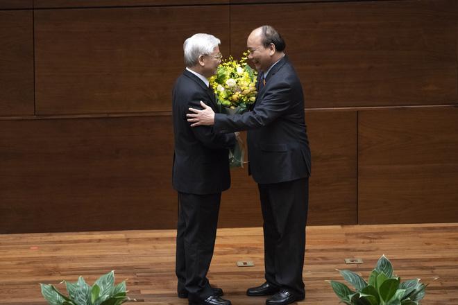 Hình ảnh Chủ tịch nước Nguyễn Phú Trọng tuyên thệ nhậm chức 9