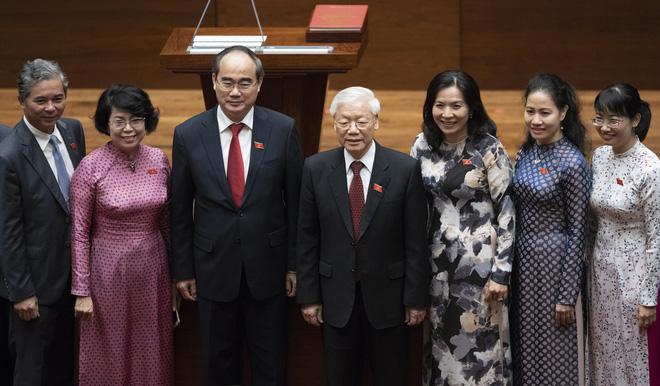 Hình ảnh Chủ tịch nước Nguyễn Phú Trọng tuyên thệ nhậm chức 11