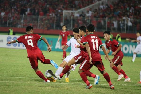 5 bàn thắng siêu phẩm của U19 Indonesia với U19 Qatar 1
