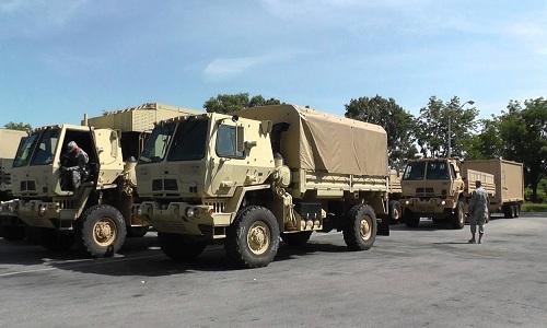 4 xe quân sự Mỹ đâm nhau khi chuẩn bị tập trận ở Na Uy 1