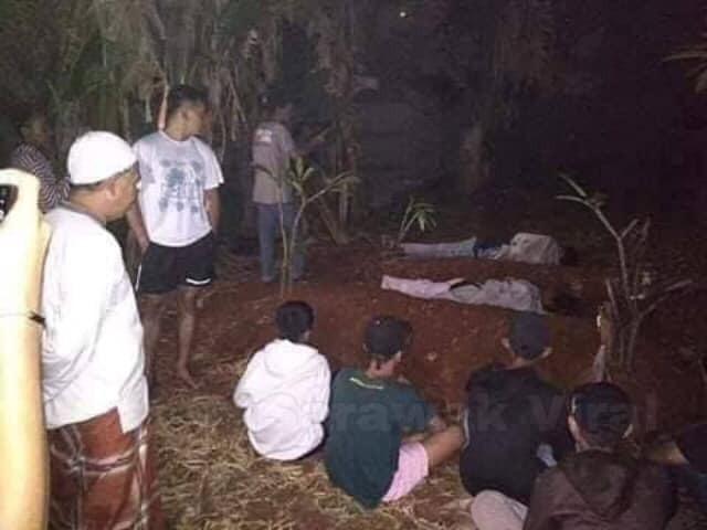 2 thanh niên bị bắt ra nghĩa trang nằm cả đêm vì giả ma dọa dân làng 2