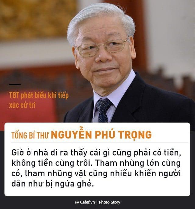 Tổng Bí thư Nguyễn Phú Trọng và những câu nói nổi tiếng về chống tham nhũng 1