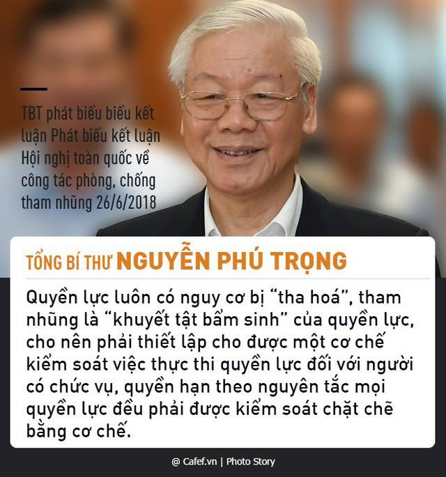 Tổng Bí thư Nguyễn Phú Trọng và những câu nói nổi tiếng về chống tham nhũng 6