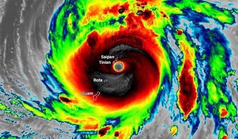 Siêu bão mạnh nhất tấn công nước Mỹ kể từ năm 1950 1