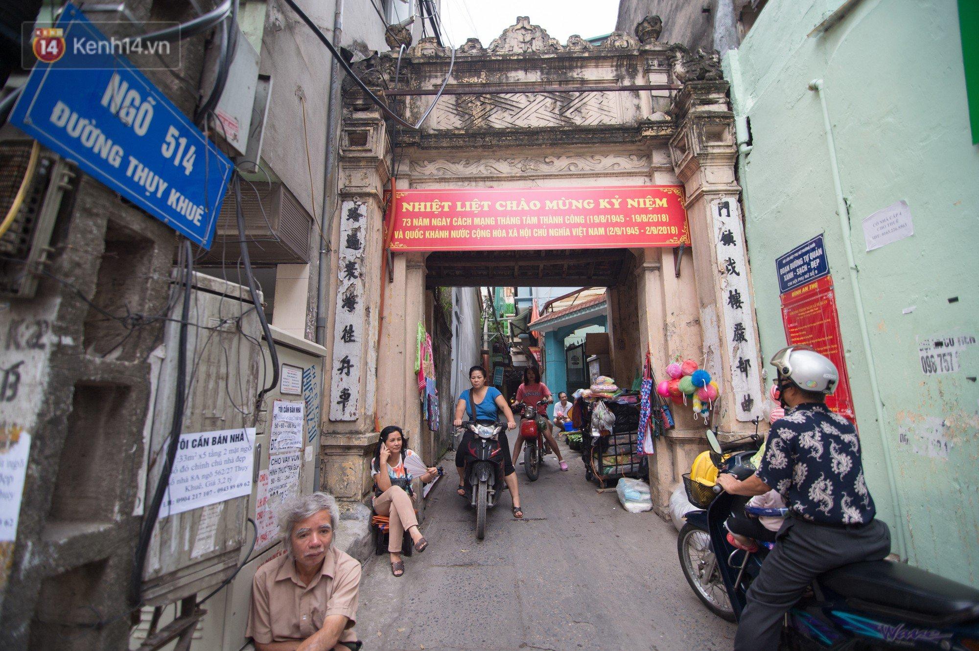Chuyện về một con phố có nhiều cổng làng nhất Hà Nội: Đưa chân qua cổng phải tôn trọng nếp làng 6