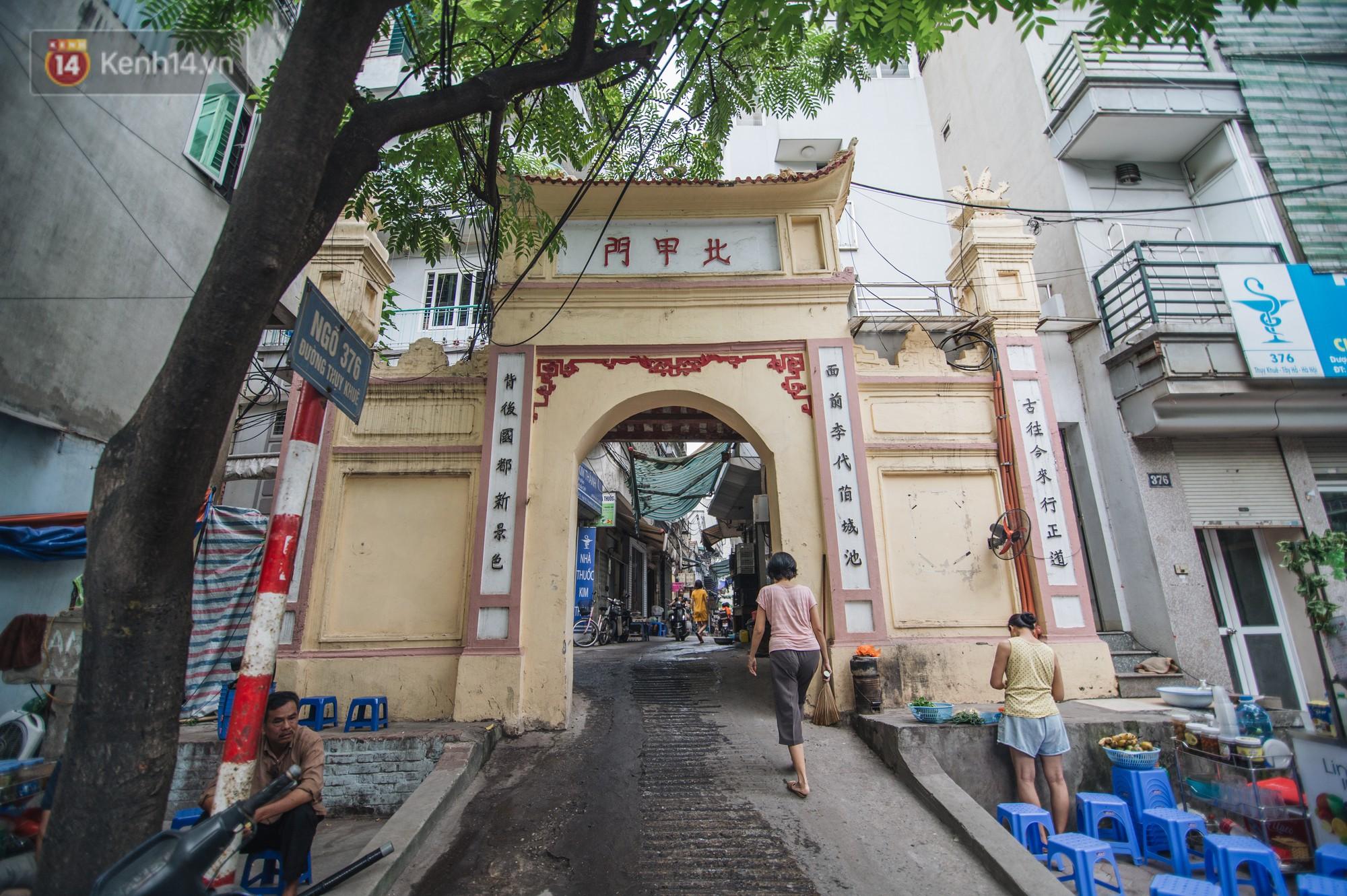 Chuyện về một con phố có nhiều cổng làng nhất Hà Nội: Đưa chân qua cổng phải tôn trọng nếp làng 2