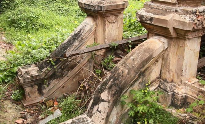 Biệt thự có kiến trúc Pháp gần 100 tuổi hoang phế ở Sài Gòn bị tháo dỡ 4