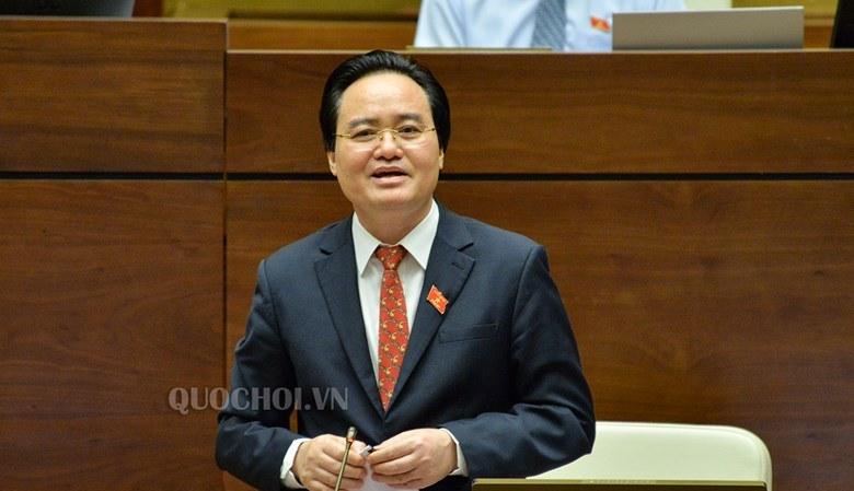 Bộ trưởng Phùng Xuân Nhạ giải trình trước Quốc hội sau 1 ngày lấy phiếu tín nhiệm 1