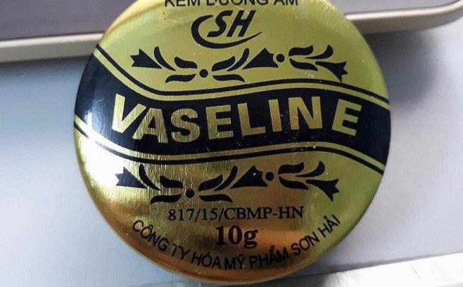 Kem dưỡng ẩm Vaseline SH bị đình chỉ lưu hành, thu hồi do không đạt chất lượng 1