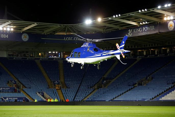 Chủ tịch Leicester có mặt trên chuyến bay