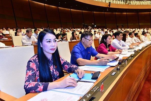 Quốc hội thảo luận về dự toán ngân sách nhà nước 1