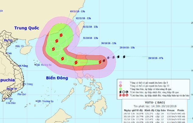 Những điều đáng sợ về siêu bão Yutu sắp đi vào Biển Đông 2
