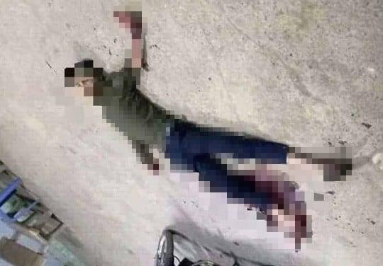 Tá hỏa phát hiện nam thanh niên nằm bất động trên vũng máu ở cây xăng 1