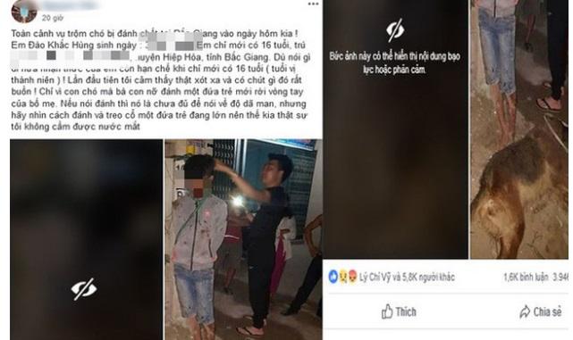 Sự thật bất ngờ vụ trộm chó bị treo cổ đánh tử vong ở Bắc Giang 1