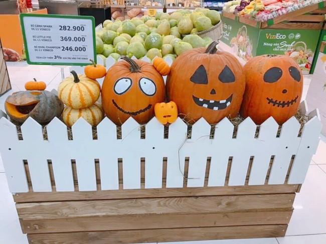 Phát cuồng với bí ngô Halloween khổng lồ lần đầu được trồng ngay tại Việt Nam 1