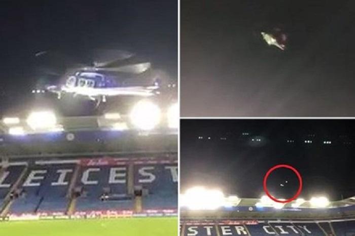 Video: Giây phút kinh hoàng của chiếc trực thăng chở Chủ tịch Leicester 1